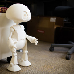 Be Ready to Customize Intel's 3D Printed Jimmy Robot
