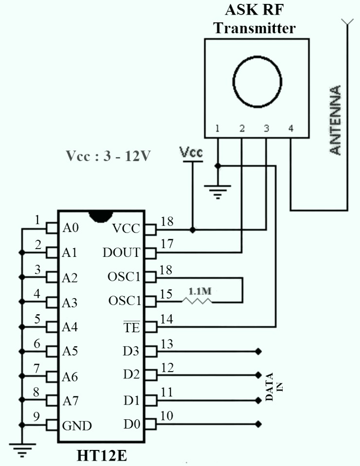 how ic ht12e works